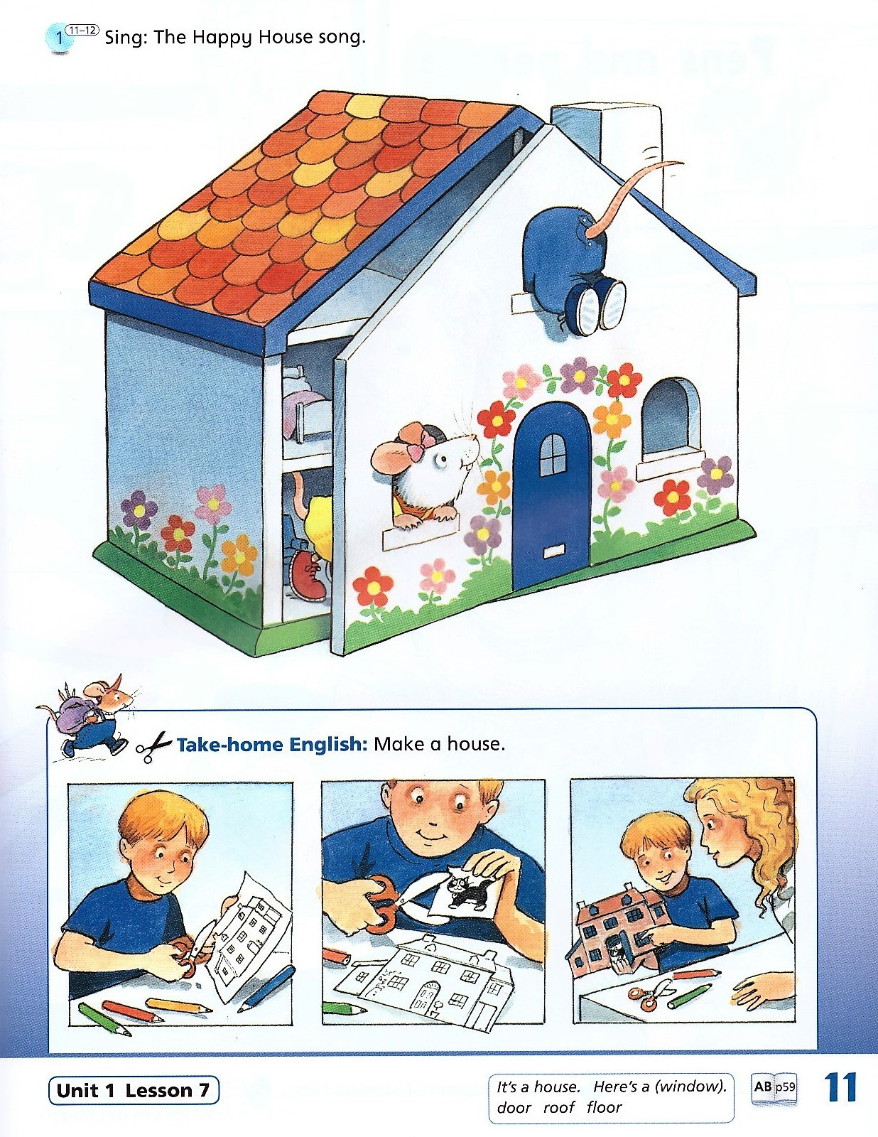 Изображение Happy House (New Edition) 1 Class Book страница 9
